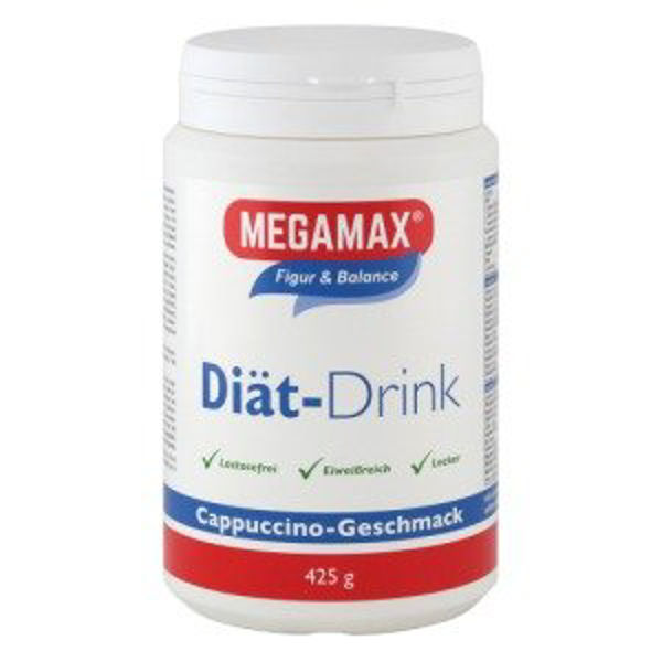 Picture of Megamax Diät Drink Cappuccino Pulver